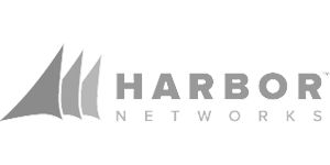 Harbor Networks Logo - Grayscale